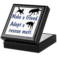 Adopt A Mutt Keepsake Box