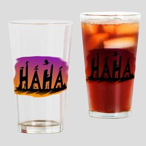 HAHA - The Harris' Hawk Drinking Glass