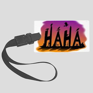 HAHA - The Harris' Hawk Luggage Tag