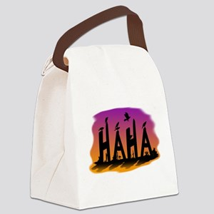 HAHA - The Harris' Hawk Canvas Lunch Bag