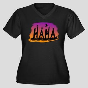 HAHA - The Harris' Hawk Plus Size T-Shirt