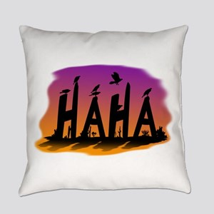 HAHA - The Harris' Hawk Everyday Pillow
