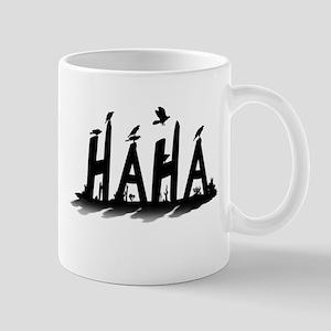 HAHA - B/W Mugs