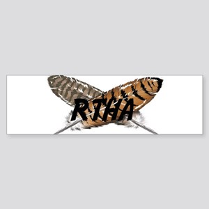 Red-tailed Hawk Bumper Sticker