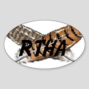 Red-tailed Hawk Sticker