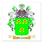 Marguerin Square Car Magnet 3