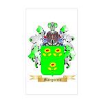 Marguerin Sticker (Rectangle)