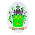 Marguerin Oval Ornament