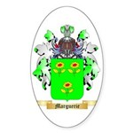 Marguerie Sticker (Oval 10 pk)