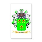 Margry Rectangle Car Magnet