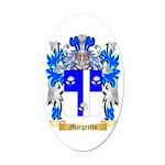 Margretts Oval Car Magnet