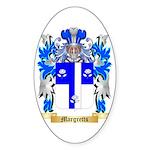 Margretts Sticker (Oval 50 pk)