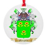 Margotin Round Ornament