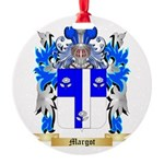 Margot Round Ornament