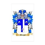 Margot Sticker (Rectangle 10 pk)