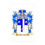 Margot Sticker (Rectangle 50 pk)