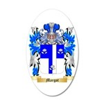 Margot 35x21 Oval Wall Decal