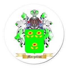 Margolius Round Car Magnet