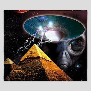 pyramids King Duvet
