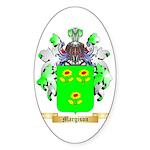 Margison Sticker (Oval 50 pk)