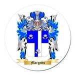 Margetts Round Car Magnet