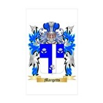 Margetts Sticker (Rectangle 50 pk)