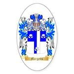Margetts Sticker (Oval 10 pk)