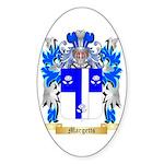 Margetts Sticker (Oval 50 pk)