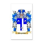 Margetson Rectangle Car Magnet