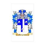 Margetson Sticker (Rectangle 10 pk)