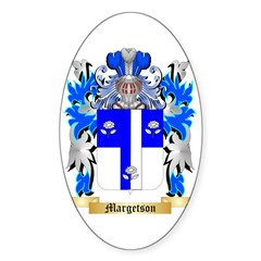 Margetson Sticker (Oval)