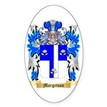 Margetson Sticker (Oval 50 pk)