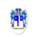 Margetson 35x21 Oval Wall Decal