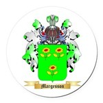 Margesson Round Car Magnet