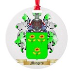 Margery Round Ornament
