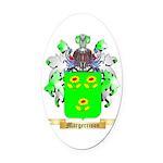 Margerrison Oval Car Magnet