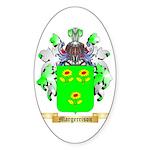 Margerrison Sticker (Oval 50 pk)