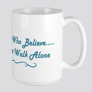Believe In Teal Mugs