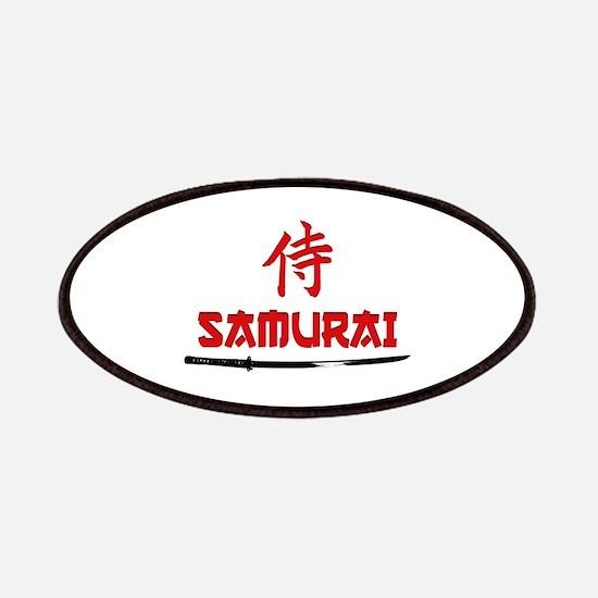 Samurai Kanji and text Patch