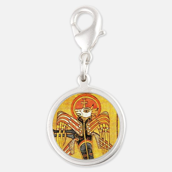 ox from the Book of Kells Gospel manuscript Charms