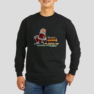 Welcome Long Sleeve Dark T-Shirt