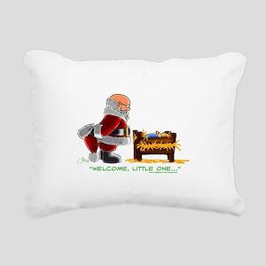 Welcome Rectangular Canvas Pillow