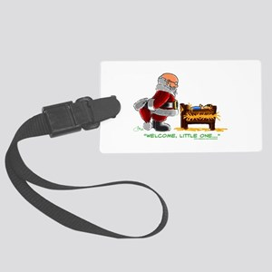Welcome Large Luggage Tag