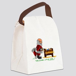 Welcome Canvas Lunch Bag