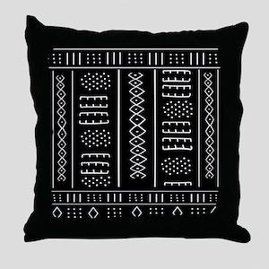African Pattern Throw Pillow
