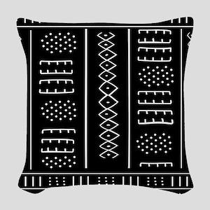 African Pattern Woven Throw Pillow