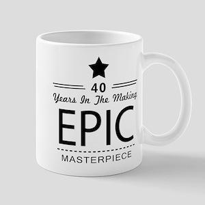40th Birthday 40 Years Old Mug