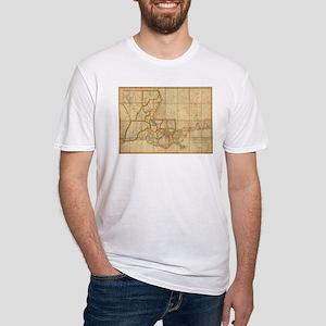 Vintage Map of Louisiana (1816) T-Shirt