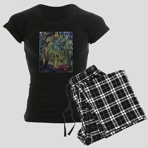 Weeping Willow by Claude Mon Women's Dark Pajamas