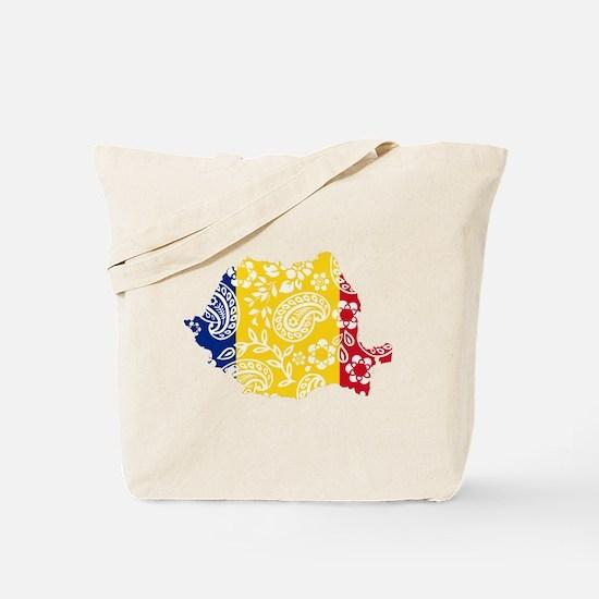 Paisley Romania Tote Bag
